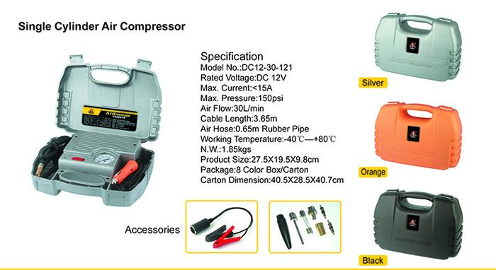 Single cylinder compressor info